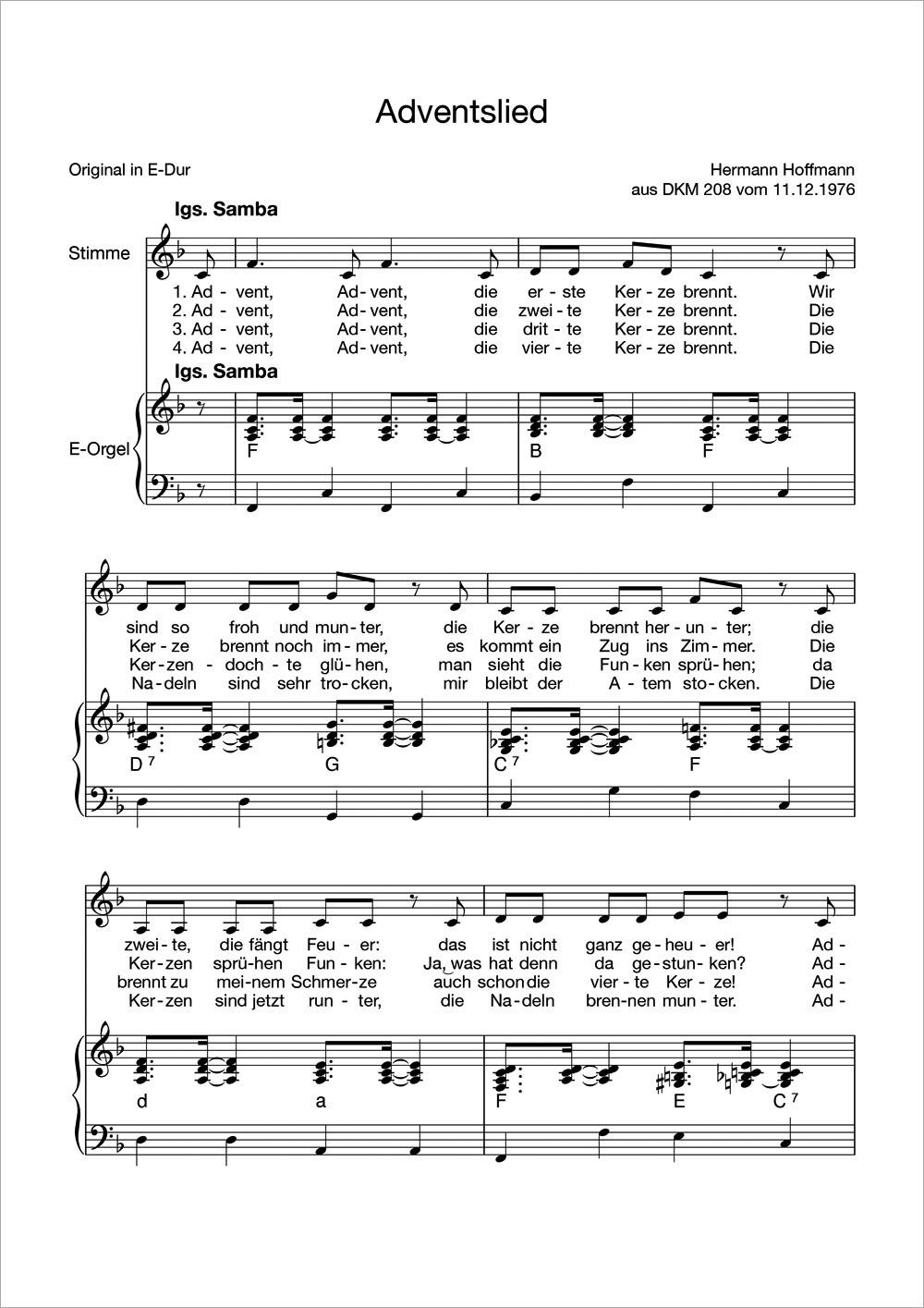 Lieder Im Advent